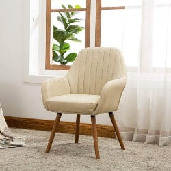 modern living room furniture - Tuchico Contemporary Fabric Accent Chair