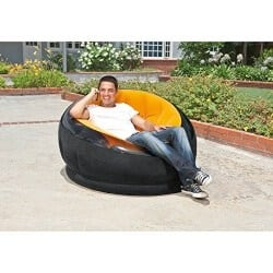26. Intex Inflatable Empire Chair