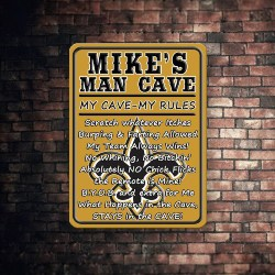 27. Man cave rules sign (1)