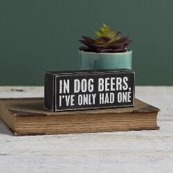 31. In Dog Beers