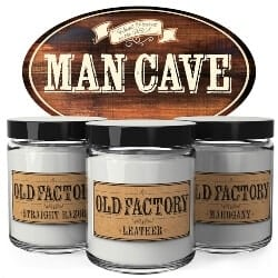 48. Old Factory Scented Candles for Men