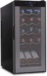 50. 15 Bottle Wine Cooler Refrigerator (1)
