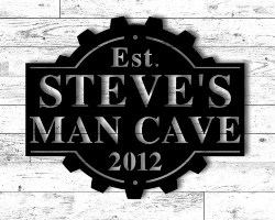 51. Personalized MANCAVE Sign (1)