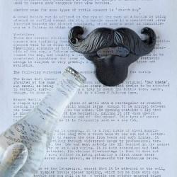 58. Cast Iron Mustache Bottle Opener (1)