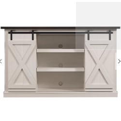 family room furniture - Walker Edison TV Stand for TVs up to 60_