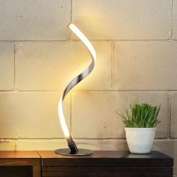 25. Spiral Design LED Table Lamp (1)