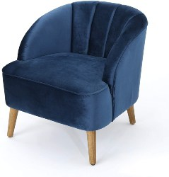 28. Modern Velvet Club Chair (1)