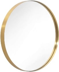 56. Wall-Mounted Round Mirror (1)