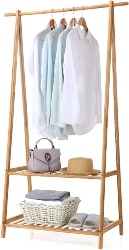 57. Bamboo Clothes Rack (1)