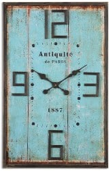 Best Living Room Furniture - Antiquite Wall Clock By Uttermost