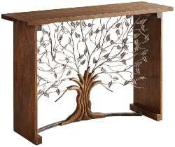 Best Living Room Furniture - Arbor Tree Console Table