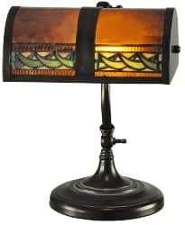 Best Living Room Furniture - Egyptian 14 Inch Desk Lamp By Dale Tiffany