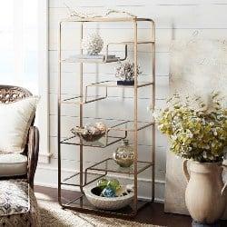 Best Living Room Furniture - Enzo Tall Shelf