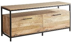 Best Living Room Furniture - Natural Mango Wood 49″ TV Stand