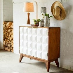 Best Living Room Furniture - Nolita Mid-Century Modern Cabinet