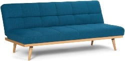 Best Living Room Furniture - Simpli Home AXCSOF-02-MBU Spencer Contemporary 71 Inch Wide Sofa Bed