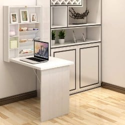 Best Living Room Furniture - Wall Mounted Table, Fold Out Convertible Desk