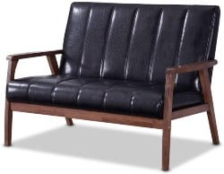 Best Living Room Furniture - Wooden 2 Seater Loveseat