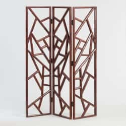 Cheap bedroom furniture-Hand Carved Wood Abstract Rigby Screen