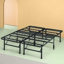 Cheap bedroom furniture-New Innovated Box Spring Metal Bed Frame