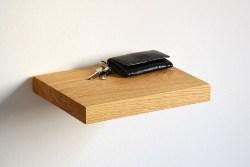 Oak FLoating Shelf (1)