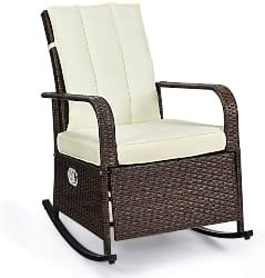 Outdoor WIcker Rocker (1)