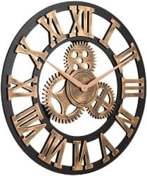 Silent Gear Wall Clock