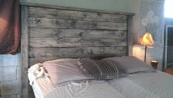 bedroom furniture - Distressed Headboard