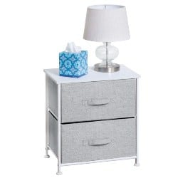bedroom furniture - End Table Storage Tower