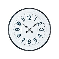 bedroom furniture - Goose Cove Wall Clock by Sterling Industries