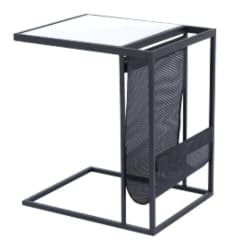 bedroom furniture - Magazine Rack Table Black