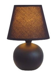 bedroom furniture - Mini Ceramic Globe Table Lamp