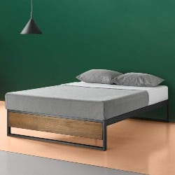 bedroom furniture - Platform Bed without Headboard