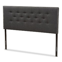 bedroom furniture - Reuben Dark Gray Headboards