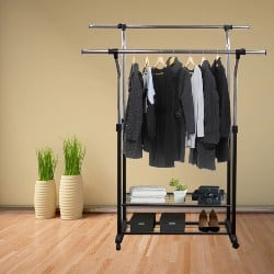 bedroom furniture - Rolling Garment Racks