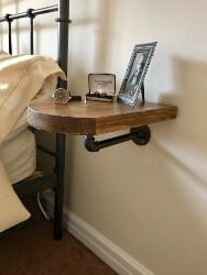 bedroom furniture - Space Saving Shelf, Side Table