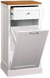 Freestanding Microwave Kitchen Cart