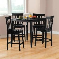 16. Contemporary Counter Height Table Set (1)