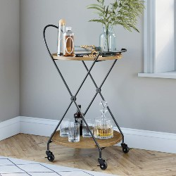 17. Rolling Bar Serving Cart (1)