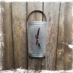 kitchen clock upcycling