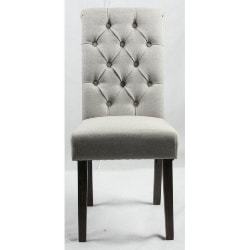 47. Button back upholstered chair (1)