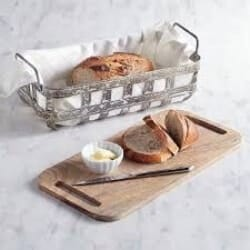 Weston Bread Basket with Serving Board