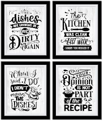 60. Kitchen Sentiments Wall Decor (1)