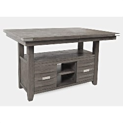 76. Counter Height Dining Room Table (1)
