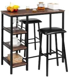 87. 3-piece Pub Table Set (1)