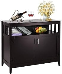 Brown Buffet Table (1)