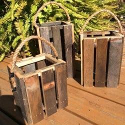 Lantern Candle Holder Set of 3 (1)