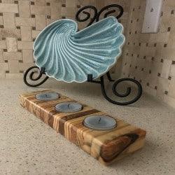 Pallet Wood Candle Holder (1)