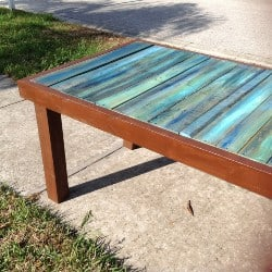 Wood Outdoor Table (1)
