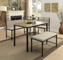 dining room furniture - Boltzero Corner Nook Dining Table